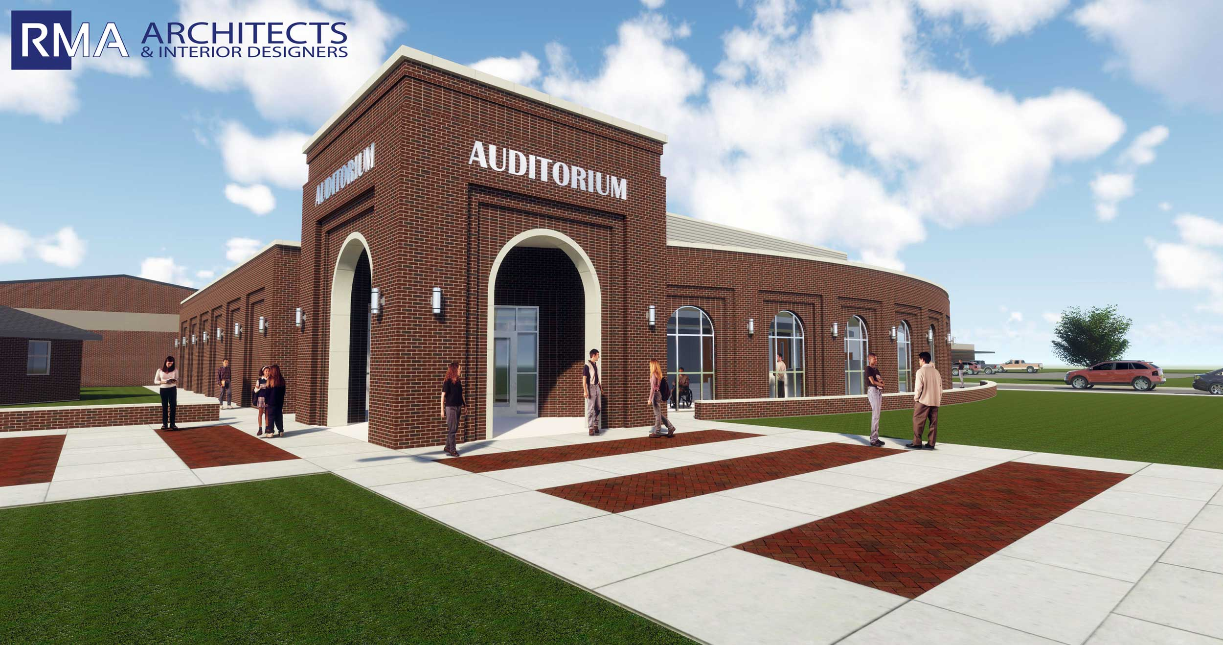 Industrial ISD Auditorium Addition