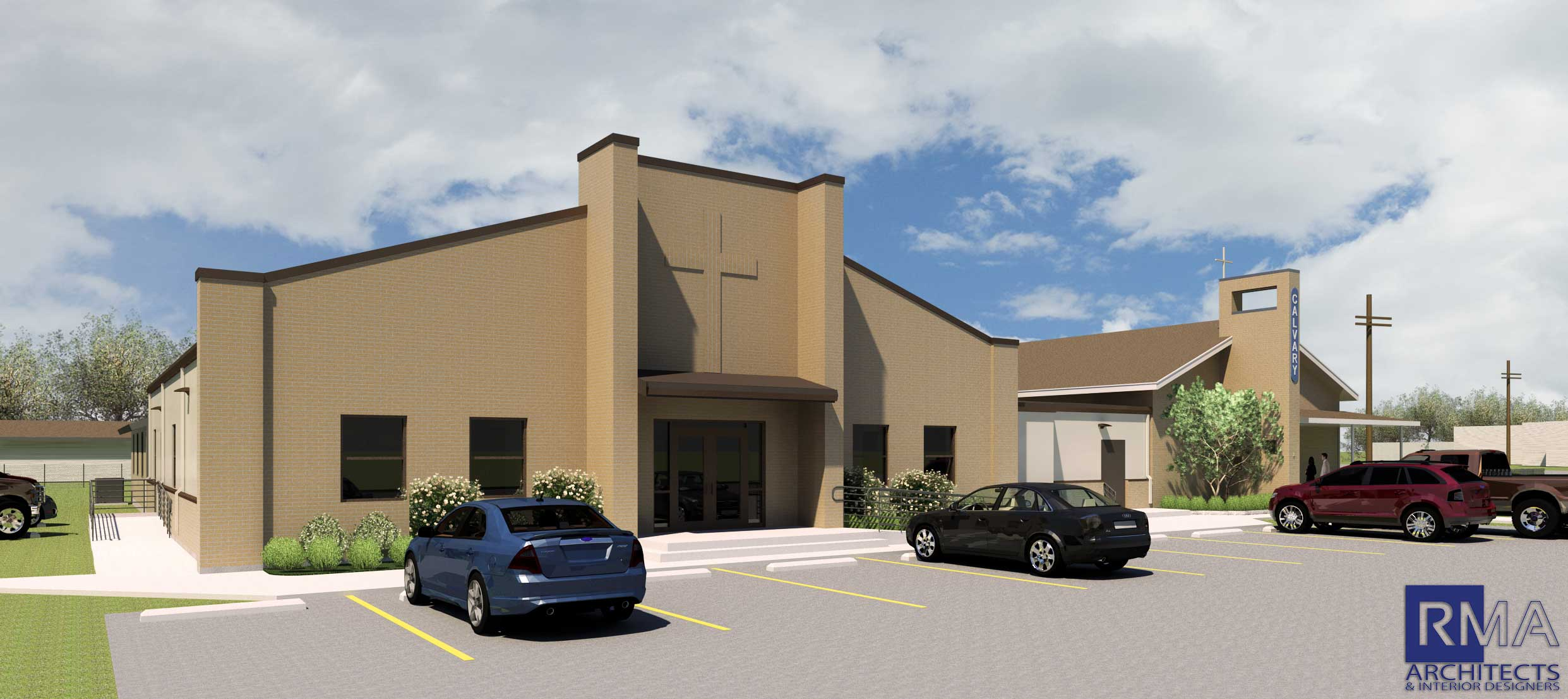 Calvary Baptist Church New Fellowship Hall