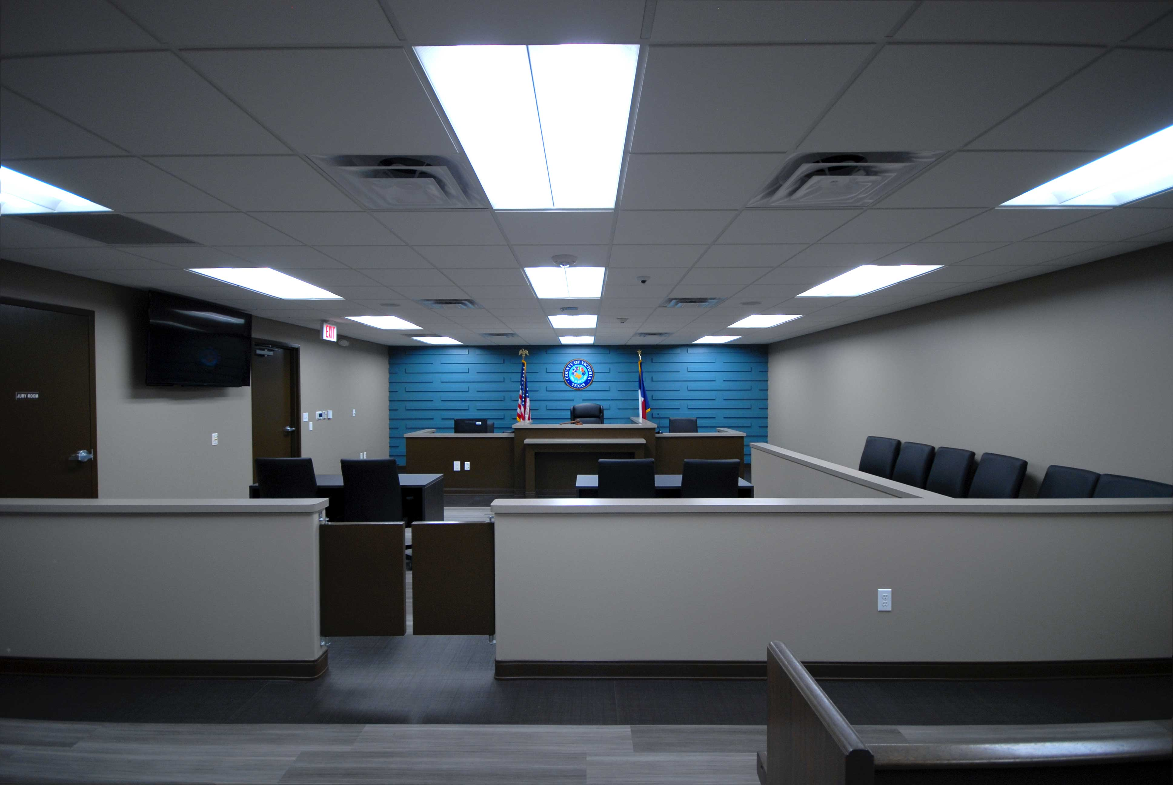 Justice of the Peace Precinct 2 Courtroom